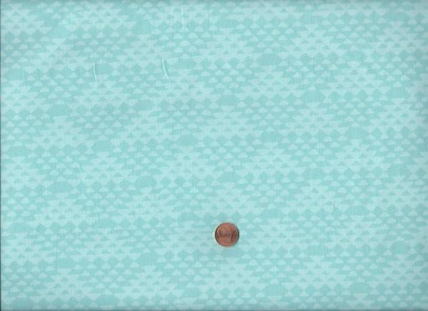 me & you Batik Triangle iceblue