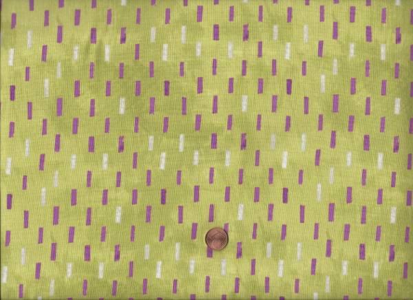 Carrie Bloomston Dreamer Striche grün