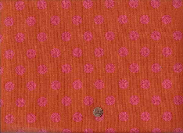 Alison Glass Sun Print Dots orange