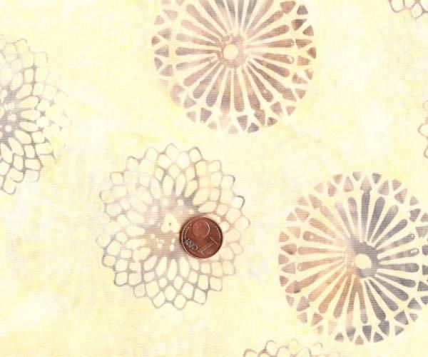 Tonga Batic neutral Mandalas