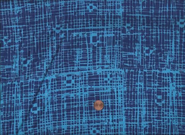 me & you Batik Scratch blau-türkis