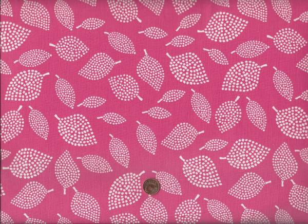 Lotta Jansdotter Mormor Leaf rubine