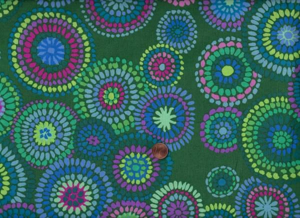 Kaffe Fassett Mosaic Circles gp176 green