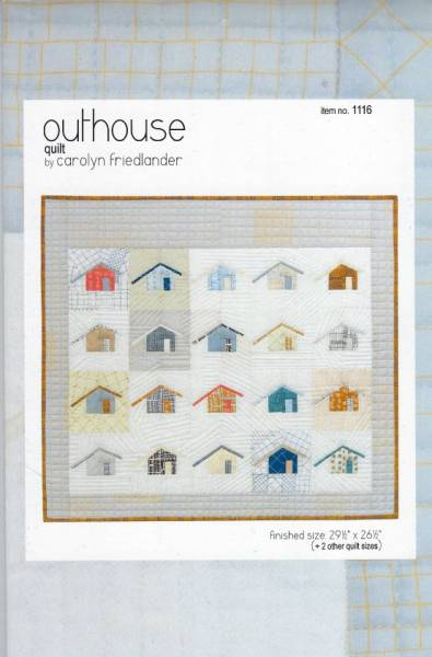 Anleitung outhouse quilt