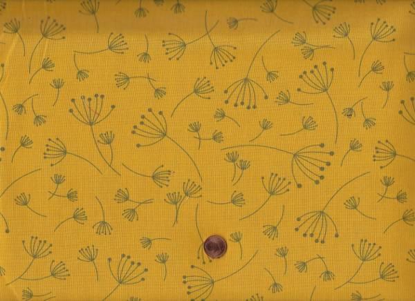 Brigitte Heitland Quotation Breezy mustard