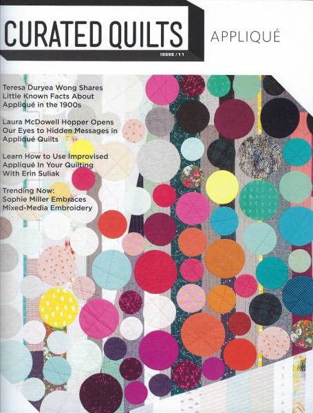 Curated Quilts APPLIQUE issue 11