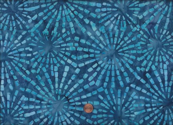 Bali Batik Ray of Light Blue