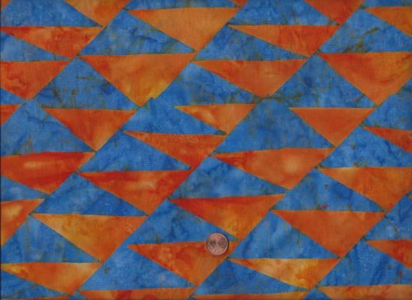 Kaffe Fassett Batik Artisan Flags blue