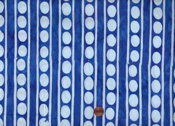 Kaffe Fassett Artisan Batik Peapots kf10 blue