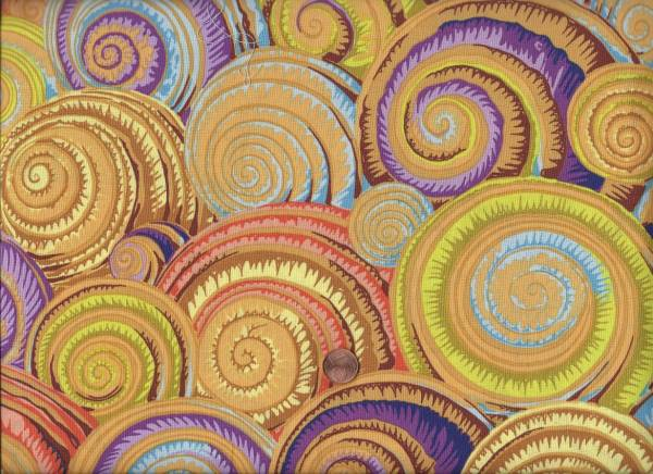 Philip Jacobs Spiral shells PJ073 Gold