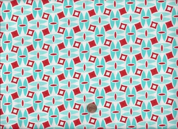 Daysail weiß-rot-türkis