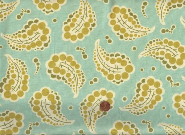 Heather Bailey Freshcut Dotted Paisley turquoise