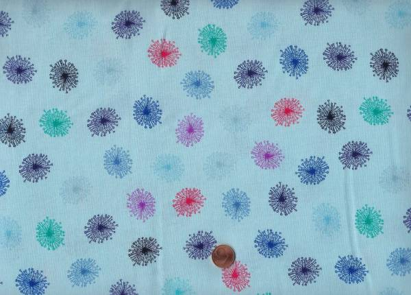 Roadside Flowers blau Löwenzahn
