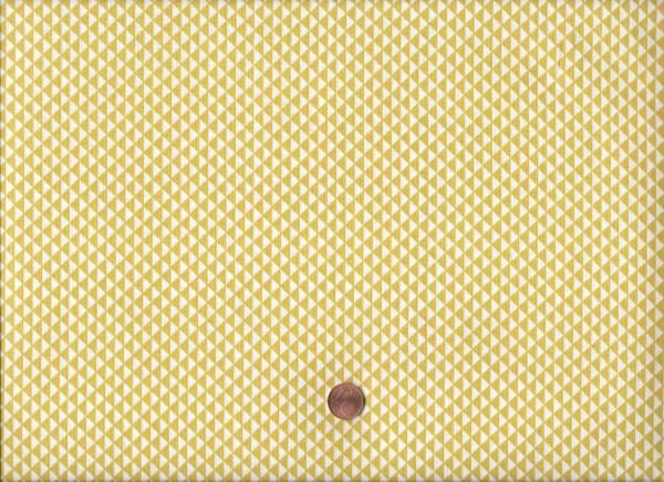 Druck weiß-gelb Dreiecke