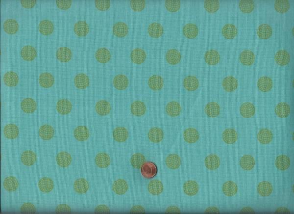 Alison Glass Sun Print Dots türkis