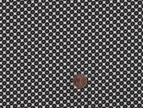 Dots Right Punkte weiß-schwarz