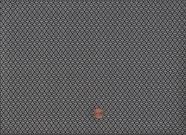 Duo Mini Rauten schwarz-weiß