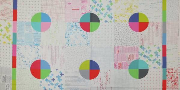 Brigitte Heitland Modern Background Colorbox Pan. White