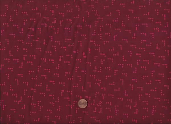 Modern Batiks Dots wine
