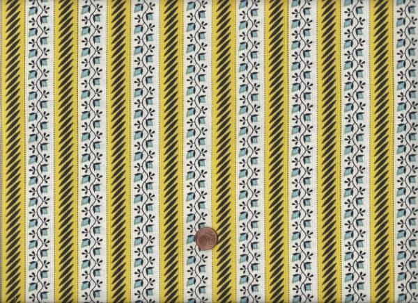 Denyse Schmidt New Bedford Floral Stripe sun