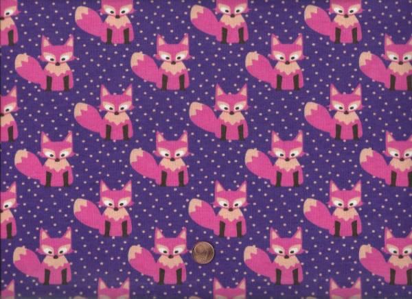 Jersey Little Fox lila