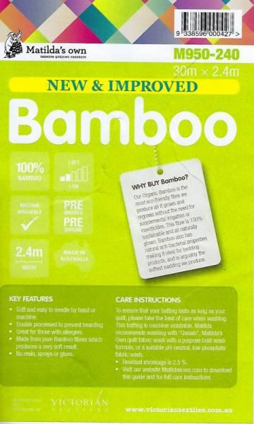Vlies Matilda Bamboo