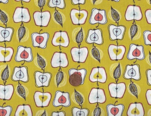 Fruit Stand Äpfel olive-bunt