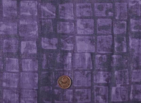 Marcia Derse Mosaic; Texture purple