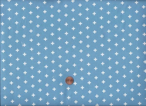 Stell it´s a Plus hellblau-weiß