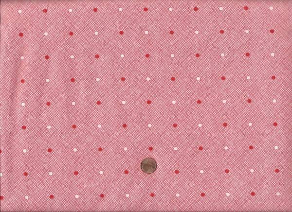 Daysail Karo-Punkte weiß-rot