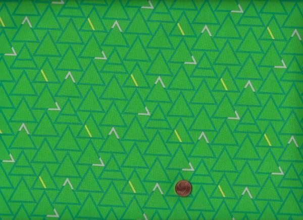 Good Vibes only Dreiecke grün