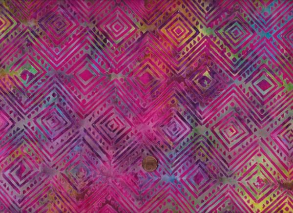 Batik Light Iris Karo pink-bunt