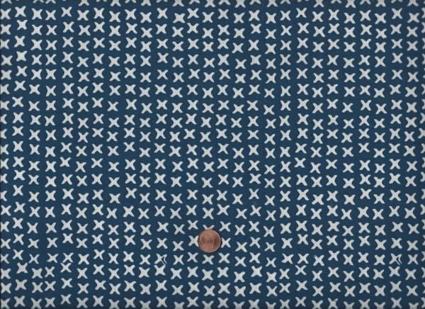 Batik XXX blau