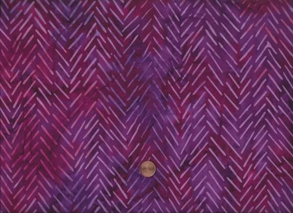 Mirah Batik Pauletta purple Chevron